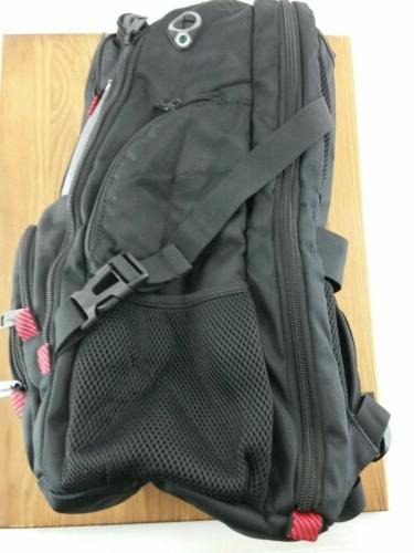 "Mancro School Backpack 17"" USB Water Resistant"