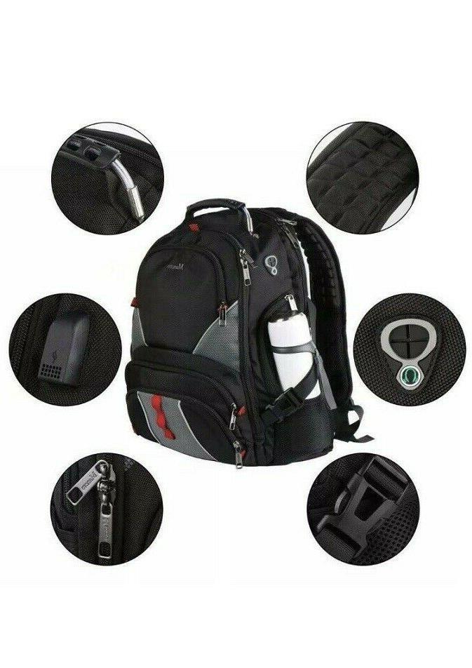 Mancro Backpack High Capacity TSA Durable Luggage Travel