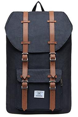 Laptop Outdoor Backpack, WIN·DF College Schoolbag Bookbag T