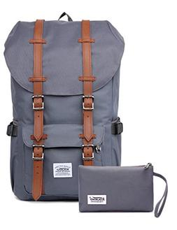 KAUKKO Laptop Outdoor Backpack, Travel Hiking& Camping Rucks