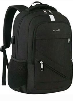 Laptop Backpack 15.6 Mancro Anti Theft Travel Business Compu