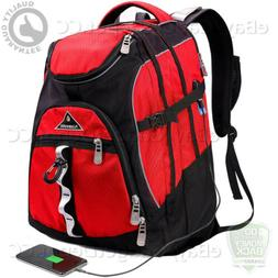 Laptop Backpack 15.6-Inch Business Travel USB Charging Port