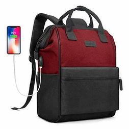 laptop backpack 15 6 inch wide open