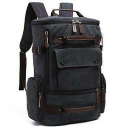 Laptop Backpack 15 Inch Rucksack Canvas - Computer Knapsack