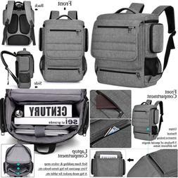 "Laptop Backpack 17.3"" Water Resistant Travel For Men Women L"