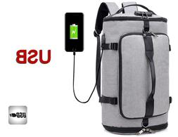 Laptop Backpack 19inch  Fashion Multi-function USB Charging