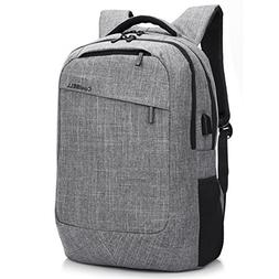 CoolBELL 17.3 Inch Laptop Backpack with USB Charging Port Fu