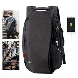 Overmont Laptop Backpack for School Travel Computer Bag Anti