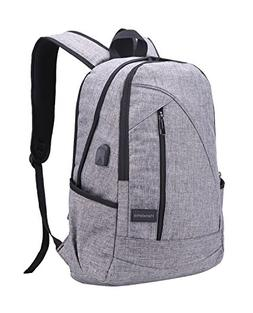 Hanxiema Travel Laptop Backpack,Business Laptop Backpack Oxf