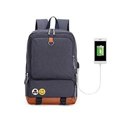 Laptop Backpack,Business Bags with USB Charging Port Water R
