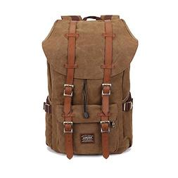 Laptop Backpack,Kaukko Hiking Rucksack Stylish Schoolbag Tra