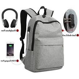 Laptop Backpack, Winblo Anti-theft Travel Laptop Backpack wi