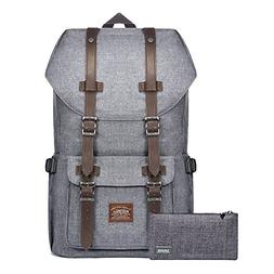 Laptop Backpack, Kaukko Hiking Rucksack Stylish Schoolbag Tr