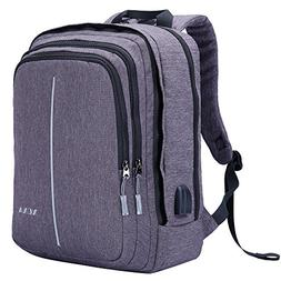 XQXA Laptop Backpack,Business Bags with USB Charging Port,An