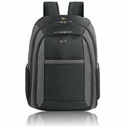 "Solo Metropolitan 16"" Laptop Backpack with Removable Sleeve,"