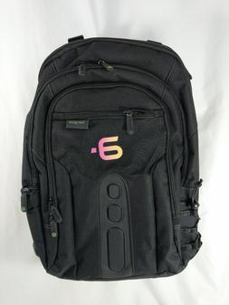 TARGUS Laptop Backpack, BLACK, Comfort, Carry On Strap, AIRP