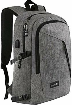 Laptop Backpack Business Anti Theft USB Port Included 17 Inc