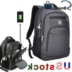 laptop backpack business travel college school bag