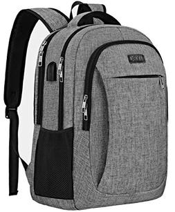 Travel Laptop Backpack, IIYBC Anti Theft Laptop Bag with USB