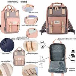 """Himawari Backpack/Waterproof Backpack 14.9"""" College Vintage"""