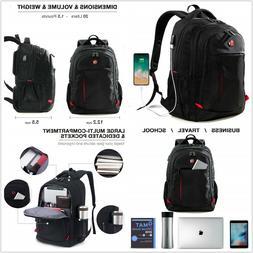 Laptop Backpack, Computer Bag, School Bag Travel business ba