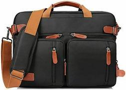 LOKASS Laptop Backpack Convertile Briefcase Shoulder Bag Bac