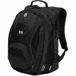 """HP Laptop Backpack   Black 17"""" New Awesome Commuter Bag"""