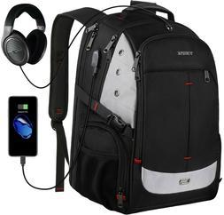 Large Laptop Backpack TSA Friendly Durable Travel Laptop Bac
