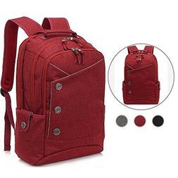 KINGLONG 15.6 Inch Laptop Backpack, Large Capacity Casual Da