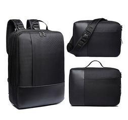 Laptop Backpack Portable Carrying Bag Messenger Case 3 in 1