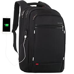 18 inch large Laptop Backpack for Men,Water Resistant Polyes