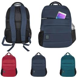 "VanGoddy Laptop Backpack School Bag For 15.6"" Samsung Chrome"
