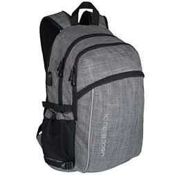 Laptop Backpack w/USB Charger Port ~ Fits 17 Inch Laptop and