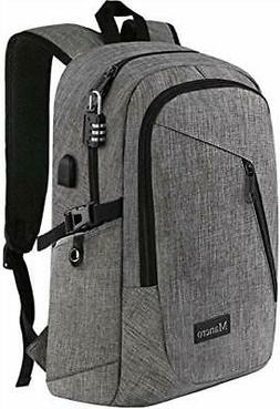 "Laptop Backpack Water Resistant Backpack Fits 15.6"" Laptop a"