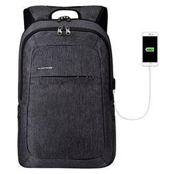 kopack Laptop Backpack Men USB Port Slim Business Computer B