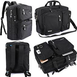 FreeBiz Laptop Bag Convertible Backpack Business Briefcase M