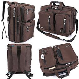 FreeBiz 15 Inches Laptop Bag Briefcase Backpack Carry 15.6 I