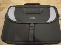 Targus Laptop Bag Messenger Case Black Briefcase, With Strap