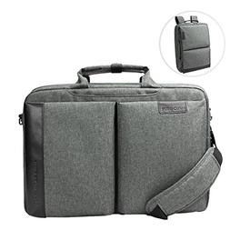 KROSER Laptop Briefcase Backpack 15.6 Inch Convertible Daypa