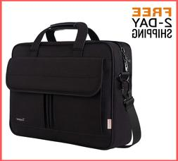 15.6 Inch Laptop Bag Business Briefcase Water Resistant Mess