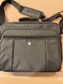 Targus Laptop Computer Brief Case Bag Black Padded Carry On