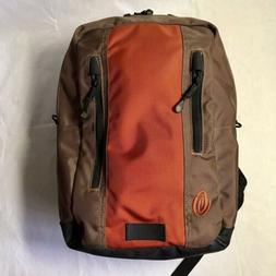 """Timbuk2 Laptop Friendly Backpack Brown/Geranium 18""""H NWOT"""