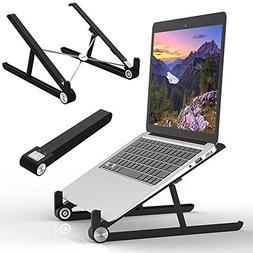Elekin Laptop Holder, Adjustable Stand for Desk, MacBook Sta