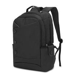 KINGSLONG 15.6 Inch Laptop Backpack for Women & Men, Button