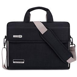 Brinch Unisex Oxford Laptop Sleeve Messenger Shoulder Bag fo