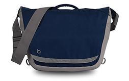 Durban Laptop Messenger Bag Waterproof Polyester 15-inch Lap