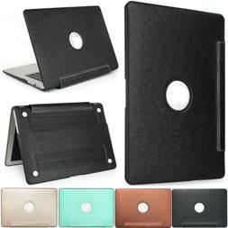 Laptop PU Leather Case Folio Cover for MacBook Air Pro Retin