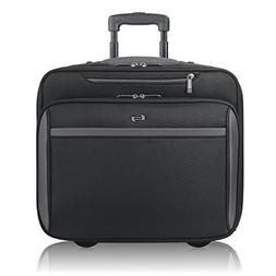 Solo Westside 16 Inch Rolling Laptop Overnighter Case, Black