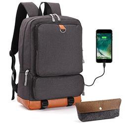 Laptop School Backpack Travel Bag - Oxford Muslin Waterproof