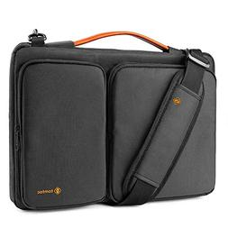 tomtoc 15 Inch Laptop Shoulder Bag with CornerArmor Patent A